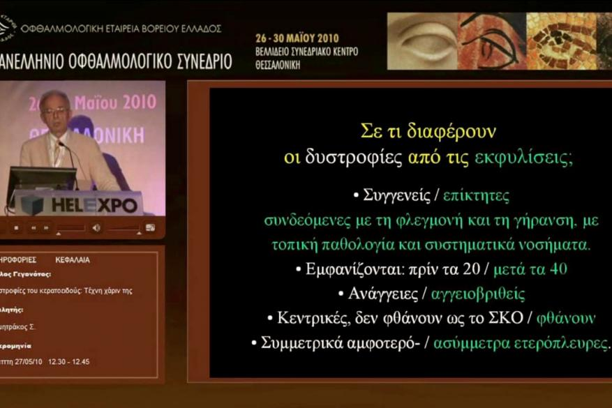 Multimedia DVD of the 43rd Panhellenic Ophthalmological Congress