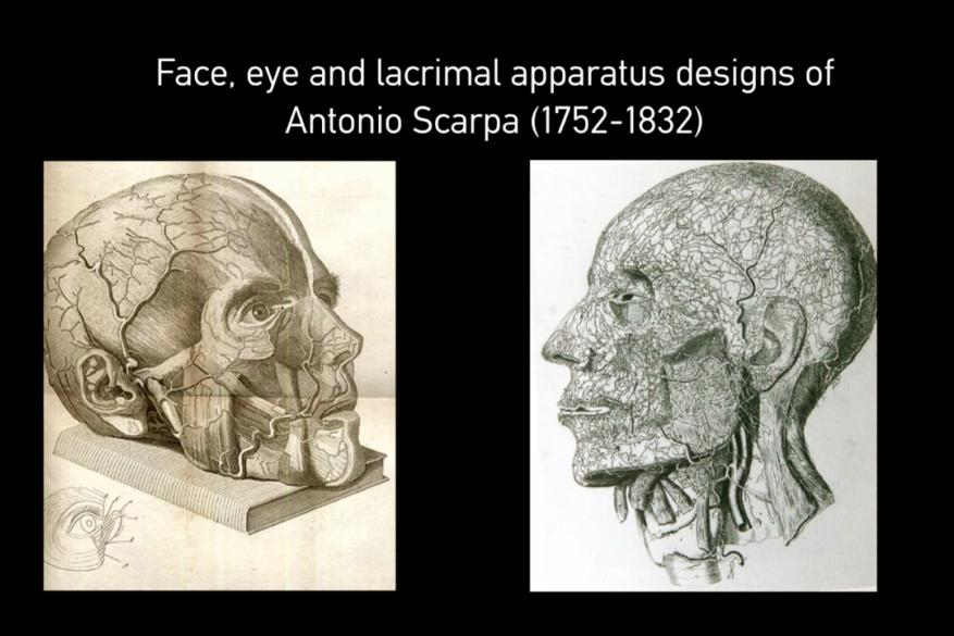 Imaging and Depiction in Ophthalmology throughout the centuries