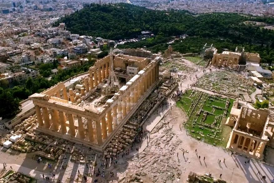 The Archaeological Sites of Athens, glimpse of the past