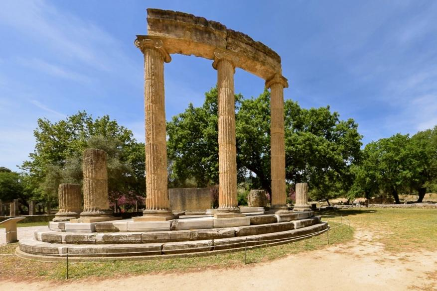 The monuments of Ancient Olympia