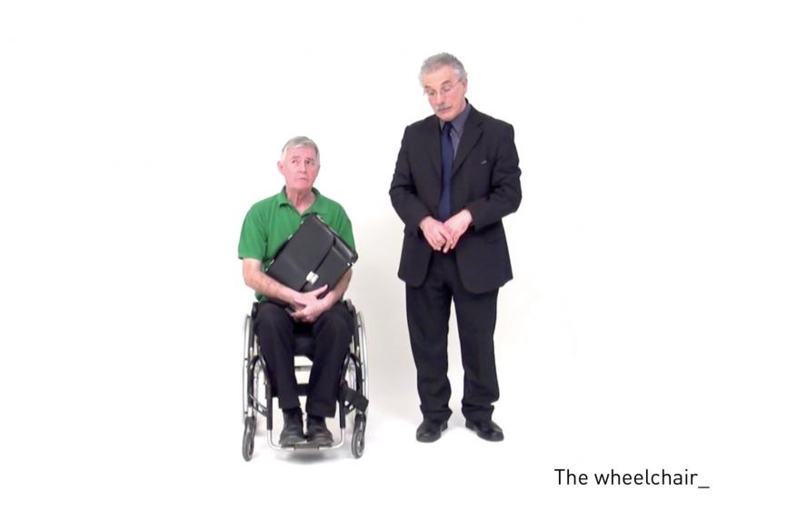 The wheelchair